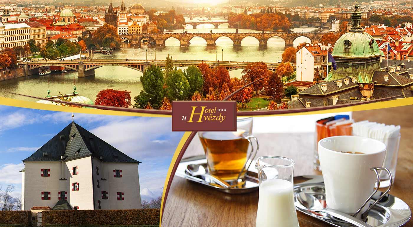 e763d7890 Stovežatá Praha - mesto, ktoré nikdy nezovšednie! Atraktívny pobyt v Hoteli  U hvězdy*