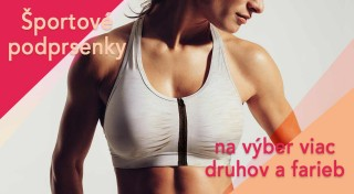 Zľava 73%: Ste žena činu? Cíťte sa pri všetkých vašich aktivitách pohodlne. Štýlová elastická podprsenka navyše dodá vašim prsiam správny tvar!