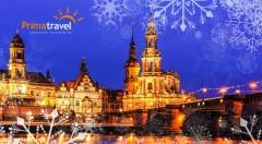 """Zľava 50%: Navštívte vianočné drážďany s najstaším vianočným trhom v Nemecku a nechajte sa očariť """"Popoluškiným"""" zámkom Moritzburg počas dvojdňového poznávacieho zájazdu."""