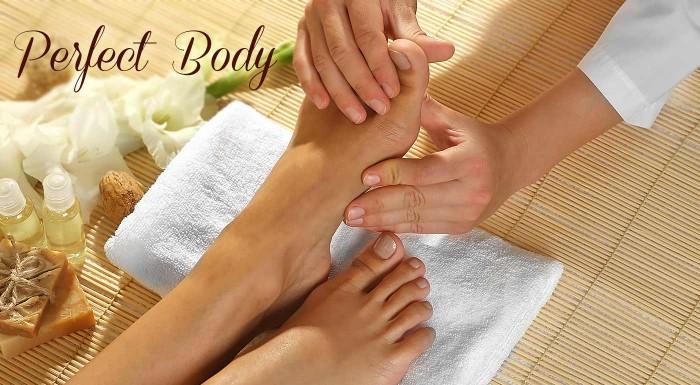 Reflexná masáž chodidiel v trvaní 30 minút. Zbavte sa bolesti a zrelaxujte v príjemnom prostredí salónu Perfect Body!