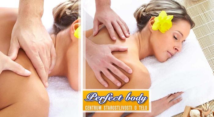 Liečebná masáž v Perfect Body