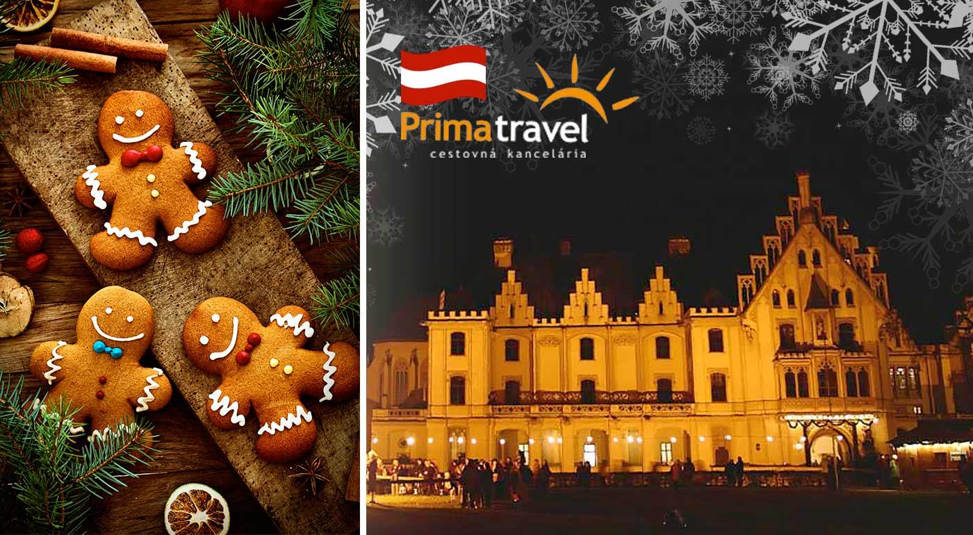 Omamná vôňa a krása perníkových chalúpok na výstave v kláštore Zwettl a advent na zámku Grafenegg