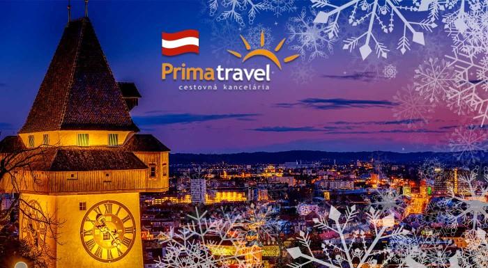 Fotka zľavy: Magická atmosféra vianočných trhov v Grazi spolu s prehliadkou mesta a unikátnym ľadovým betlehemom na vás čaká na jednodňovom zájazde s CK Prima travel.