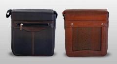 Zľava 55%: Štýlové pánske tašky do ruky i cez rameno na výber v dvoch elegantných farbách.