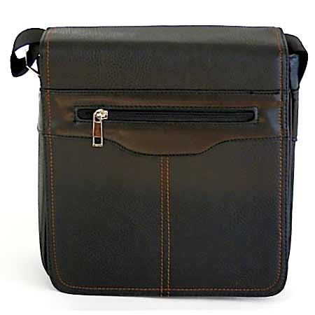 Pánska taška cez rameno - čierna farba