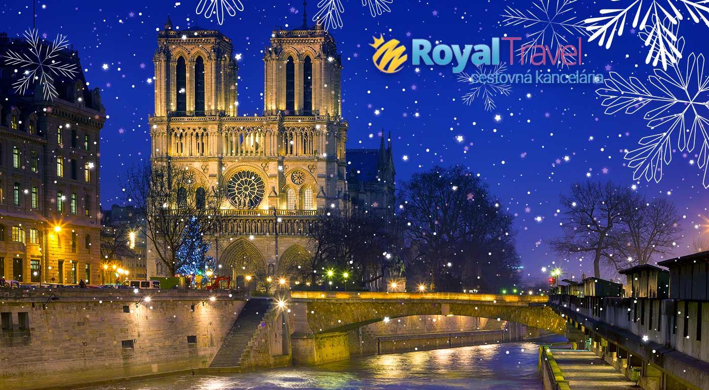 Letecký zájazd do adventného Paríža na 4 dni - vrátane všetkých letiskových poplatkov!