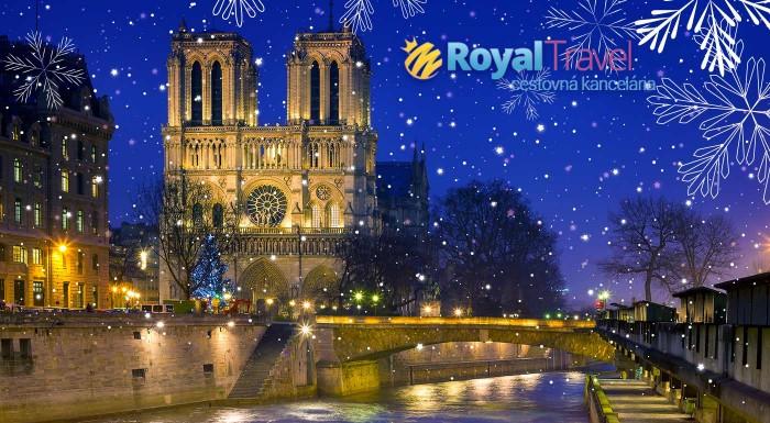 Fotka zľavy: Vychutnajte si tie najkrajšie pamiatky zasneženého Paríža počas adventných sviatkov. Nenechajte si ujsť výhodný letecký zájazd vrátane všetkých letiskových poplatkov s ubytovaním v 3* hoteli.