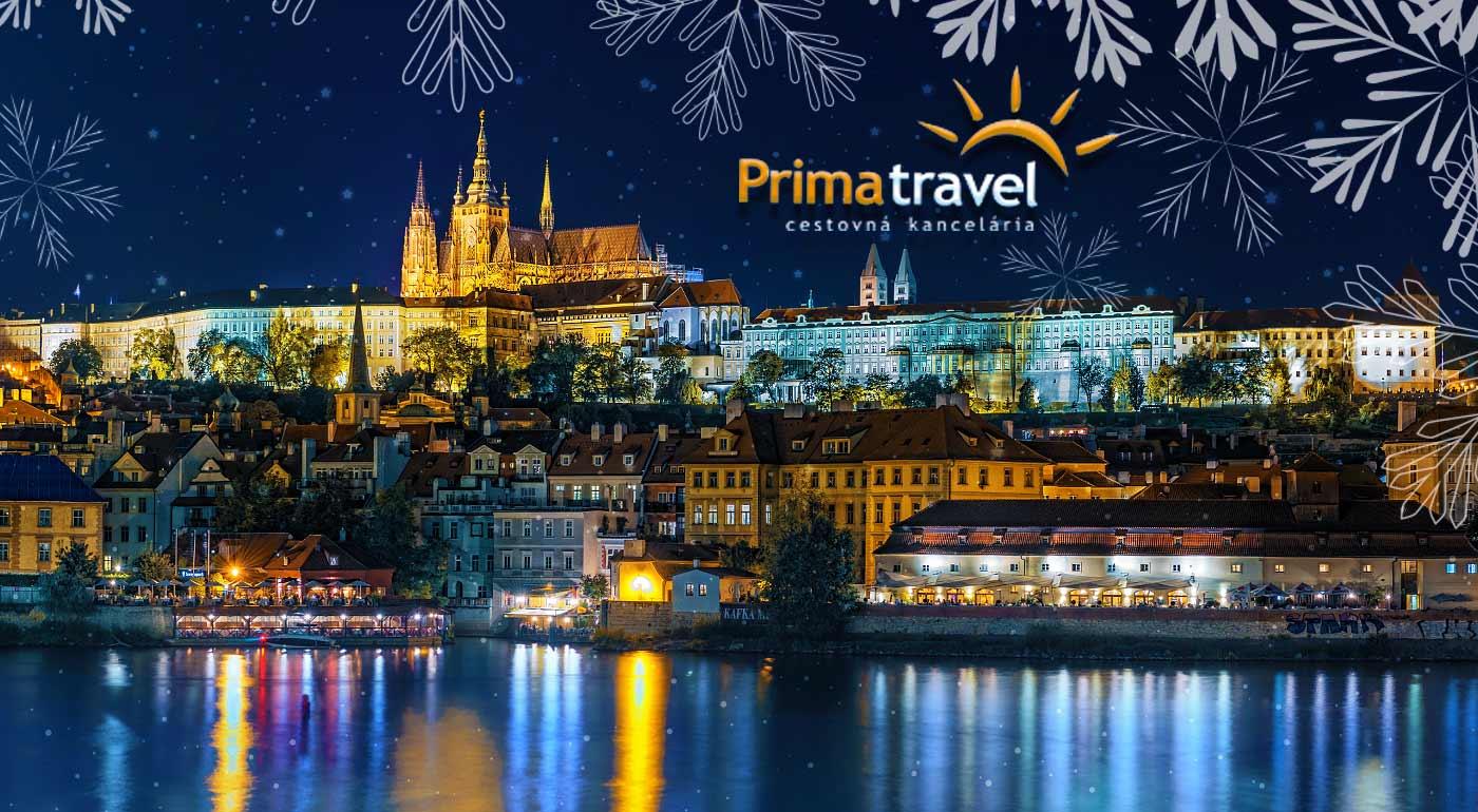 Praha: Ligotavé vianočné trhy na dvojdňovom zájazde s ubytovaním