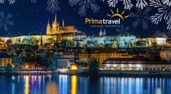 Zľava 34%: Príďte si načerpať vianočnú atmosféru do Prahy. Navštívte jedny z najkrajších vianočných trhov Európe a pokochajte sa ligotavými pamiatkami počas dvojdňového zájazdu s ubytovaním a sprievodcom.