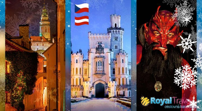 Fotka zľavy: Vyberte sa na skvelý zájazd nabitý vianočnou atmosférou - čaká vás návšteva hlavného mesta Vianoc Steyr, rozprávkového Českého Krumlova, beh čertov v Linzi a zámok Hluboká.