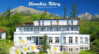 Zľava 50%: Príďte si vychutnať babie leto vo Vysokých Tatrách - na 3 dni vás pozýva Penzión Poľana*** priamo na úpätí Slavkovského štítu. Polpenzia, vstup do relax centra a ďalšie bonusy v cene.