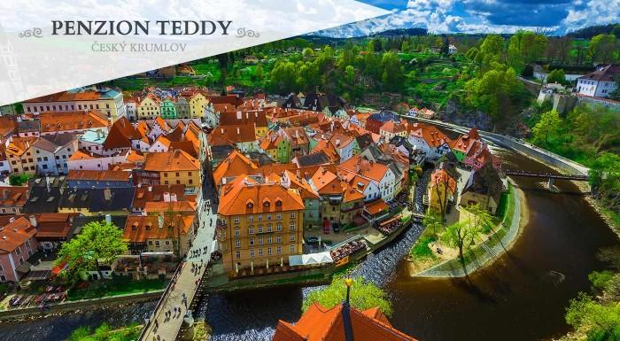 Fotka zľavy: Čarovná atmosféra Českého Krumlova počas 3 alebo 4 dní v Penzióne Teddy v historickej časti mesta s raňajkami pre dvoch. Spoznajte nádherné pamiatky UNESCO.