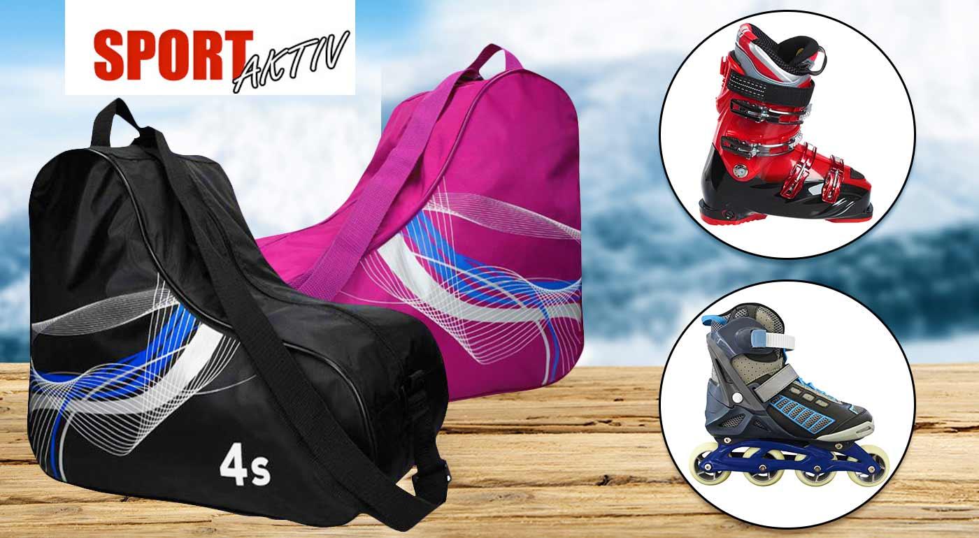 92971eb25c Športový vak na lyžiarky či kolieskové korčule - univerzálna veľkosť v  troch farbách