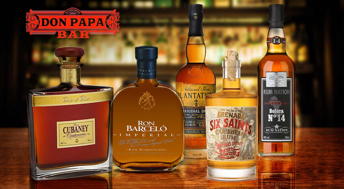Fotka zľavy: Milujete prvotriedne rumy? Alebo ste ich doteraz neskúsili? Teraz je na to ten najlepší čas. Príďte si vychutnať 8 prémiových rumov a zahryznúť ich chutným občerstvením.