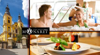 Zľava 45%: Príďte relaxovať počas studených dní. Neďaleký Eger ponúka výlet do histórie, špičkové kúpanie a pohodlné ubytovanie v Hoteli Minaret***.
