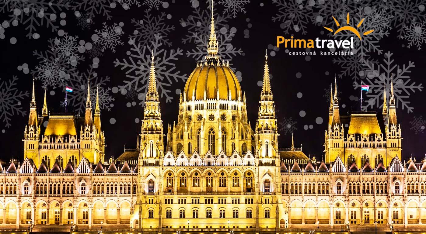 Predvianočný zájazd do vysvietenej Budapešti