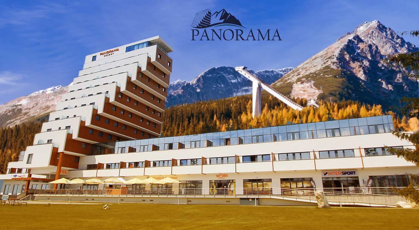 Vychutnajte si panorámu Tatier z hotelovo-apartmánového rezortu Panorama