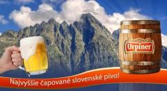 Zľava 50%: Najvyššie čapované slovenské pivo - prispejte aj vy na dobročinnú akciu - opravu turistických chodníkov vo Vysokých Tatrách.