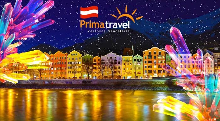 Fotka zľavy: Vyberte sa na ligotavý adventný zájazd do rakúskeho Innsbrucku, kde na vás čaká aj návšteva Swarovského sveta krištáľov. Dva skvelé dni, ktoré vás navnadia na tú správnu vianočnú vlnu.