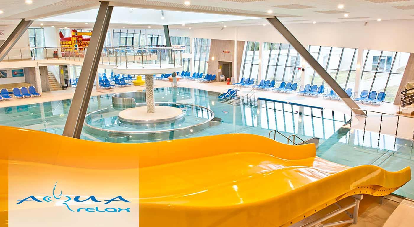 Fotka zľavy: Vyšantite sa v bazéne či Vodnom svete s mnohými atrakciami! Aquapark AquaRelax v Dolnom Kubíne je ideálne miesto pre rodiny s deťmi!