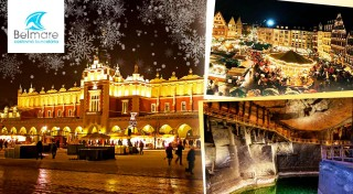 Zľava 43%: Využite predvianočný čas na nádherné zážitky - navštívte Krakow a jeho vianočné trhy, soľnú baňu Wieliczka a Wadowice - rodné mesto pápeža Jána Pavla II.