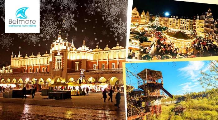 Fotka zľavy: Využite predvianočný čas na nádherné zážitky - navštívte Krakow a jeho vianočné trhy, továreň Oskara Schinldera a Wadowice - rodné mesto pápeža Jána Pavla II.