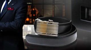 Zľava 63%: Elegantné pánske opasky s automatickou masívnou kovovou sponou, ktorá z každého muža urobí pravého šarmantného džentlmena. Skvelý tip na darček pre otca či partnera!