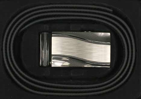 Pánsky kožený opasok - vzor 3