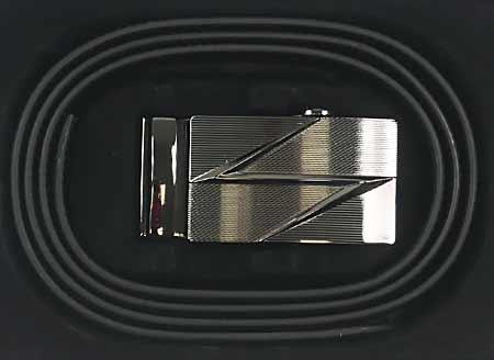 Pánsky kožený opasok - vzor 7