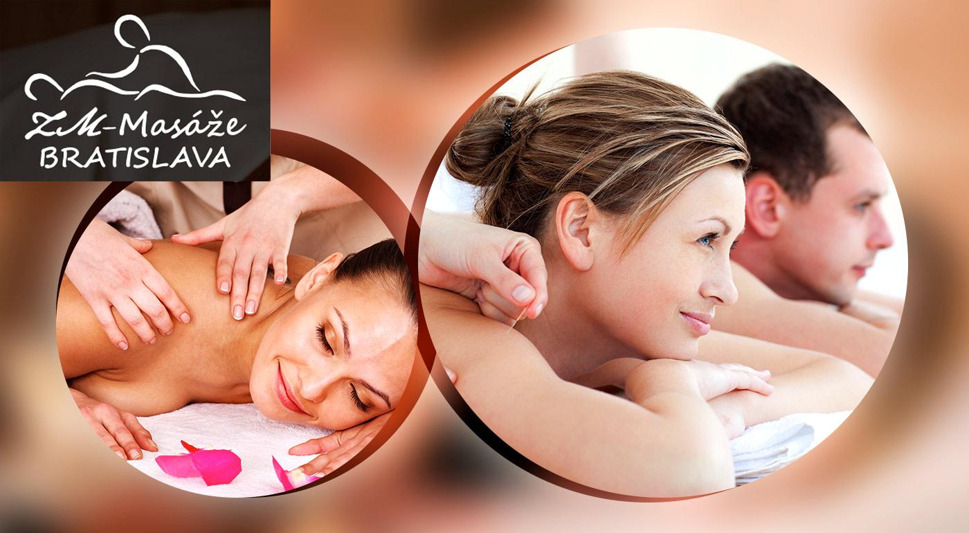 Balíček uvoľňujúcich masáži pre dvojicu a jednotlivca