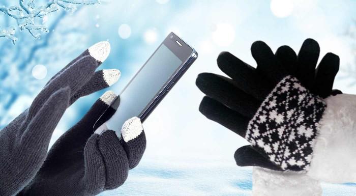 Fotka zľavy: Dámske alebo pánske rukavice na mobilné telefóny