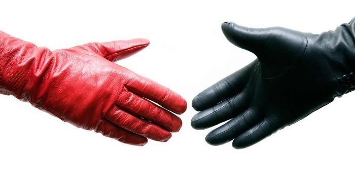 Fotka zľavy: Pánske alebo dámske kožené rukavice