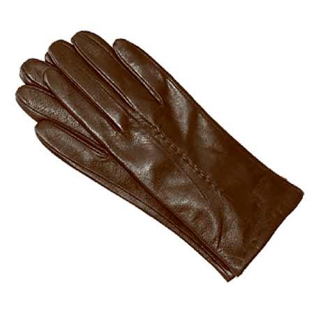 Pánske kožené rukavice - farba hnedá