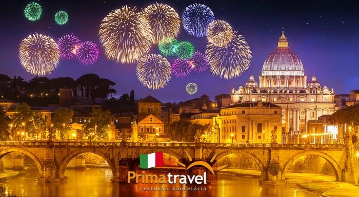 Fotka zľavy: Vychutnajte si južanské oslavy Nového Roku. Nezabudnuteľných 5 dní v Ríme, jednom z najznámejších miest sveta s oslavou Silvestra vrátane dopravy a ubytovania v 3* hoteli a raňajkami.