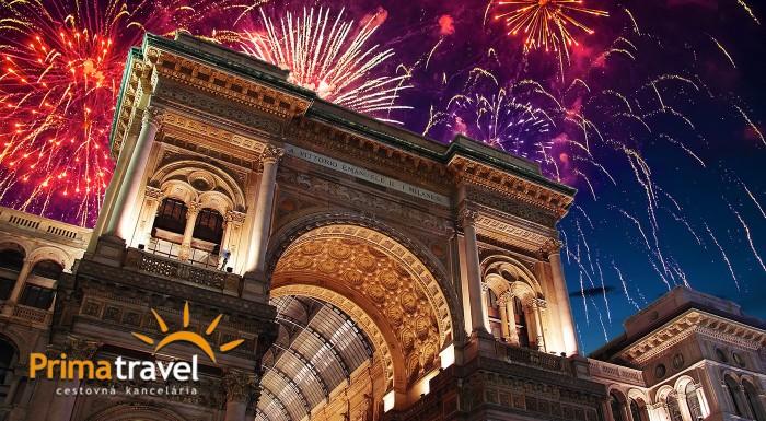 Fotka zľavy: Privítajte Nový rok pred známym Milánskym Dómom! Využite voľné dni a urobte si 5-dňový výlet do severného Talianska s návštevou jeho metropoly, či miest Bergamo alebo Monza.