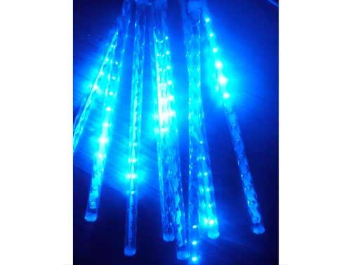 Dekoračné LED osvetlenie v tvare cencúľov modré