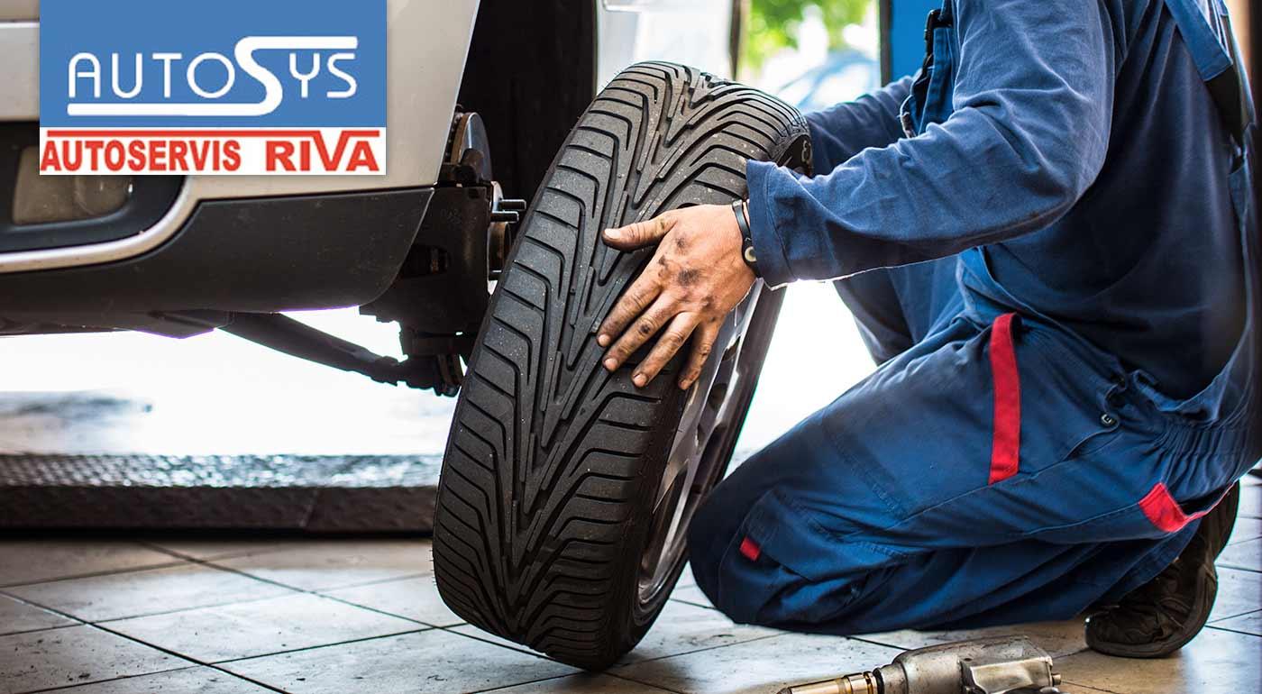 Zimné prezutie pneumatík vrátane vyváženia kolies v Lamači