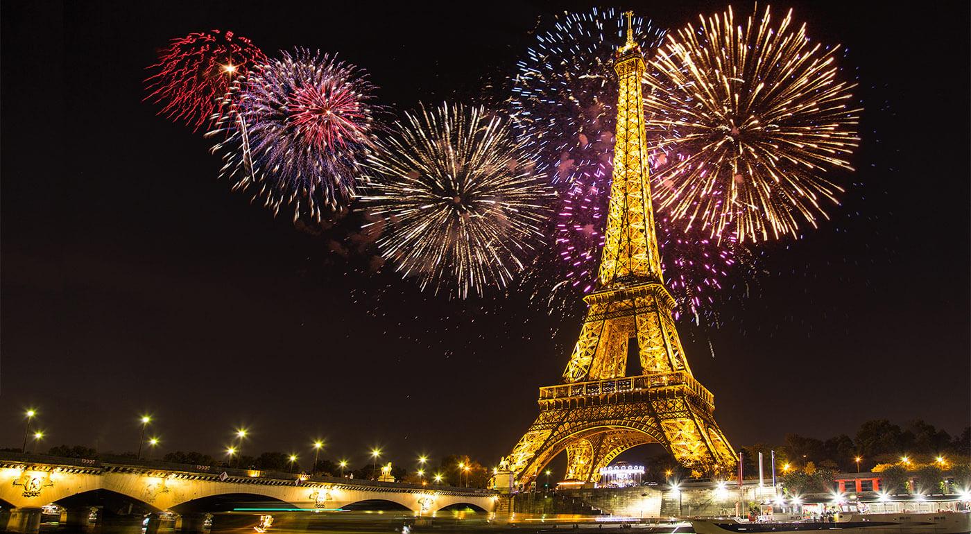 Fotka zľavy: Silvester treba poriadne osláviť. Navštívte slávnostne naladený Paríž a zažite oslavy Nového roka vo veľkom štýle. Skvelý 5-dňový zájazd vám otvorí dvere do mesta módy, gastronómie i lásky.
