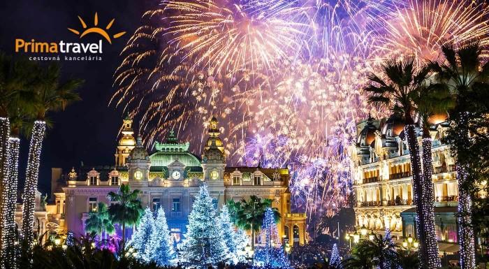 Fotka zľavy: Prežite voľno medzi sviatkami tento rok inak než pred televízorom. Príďte si vychutnať atmosféru Francúzskej riviéry a miest Nice, Grasse, Cannes či Monaco počas osláv Nového roka.