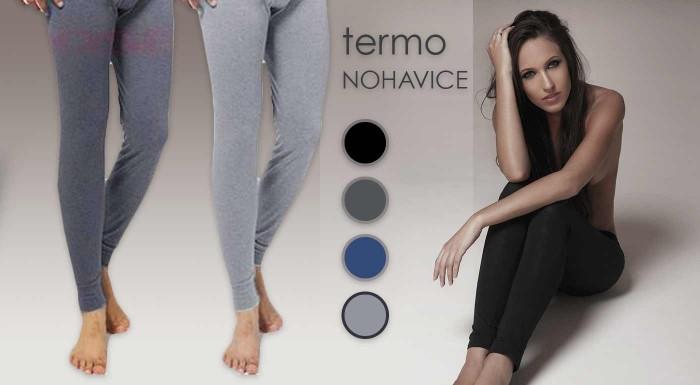 Fotka zľavy: Pánske alebo dámske hrejivé termo nohavice