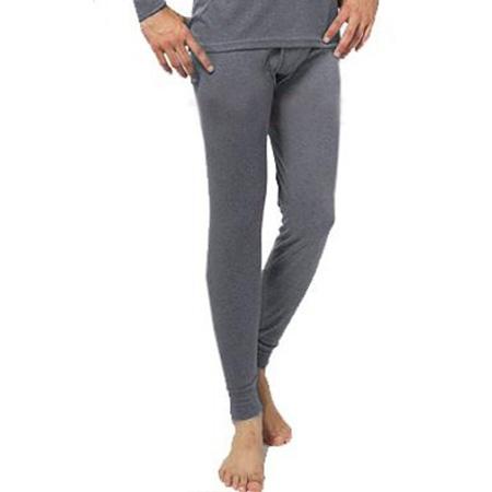Pánske termo nohavice - farba tmavošedá - veľkosť XXL