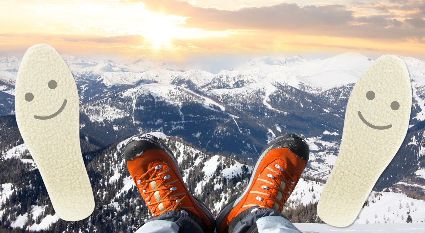 Hrejivé vložky do topánok s antibakteriálnymi vlastnosťami