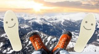 Zľava 59%: Zima ide od nôh, majte ich preto v teple kamkoľvek sa vyberiete. O teplo sa postarajú antibakteriálne hrejivé vložky do topánok s vlnou.
