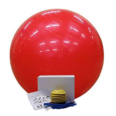 Fit lopta červená