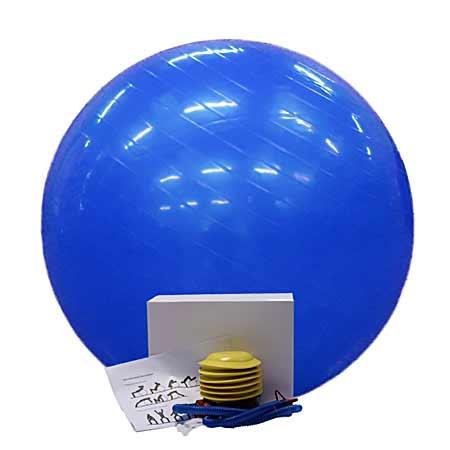 Fit lopta modrá