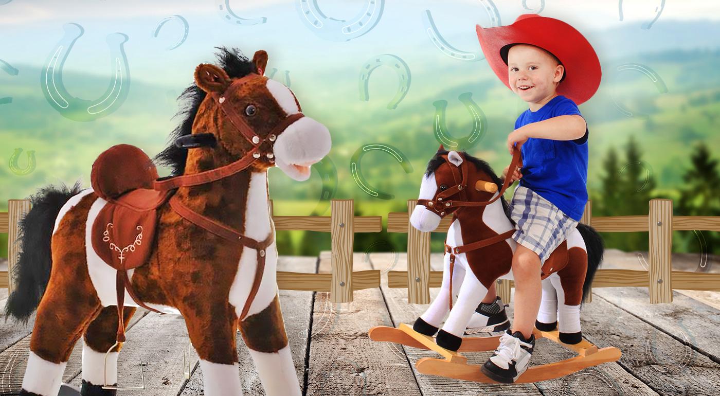 Hojdací koník - hračka, ktorá nikdy nevyjde z módy!