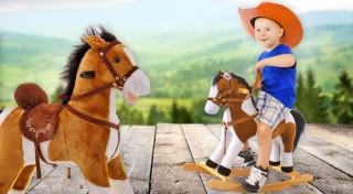 Zľava 22%: Hračka, ktorá nikdy nevyjde z módy. Prekvapte vašich drobcov hojdacím, koníkom, ktorý vyzerá ako živý! S novým kamarátom prežijú hodiny skvelej zábavy!