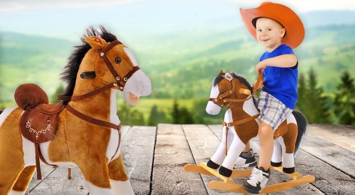 Fotka zľavy: Hračka, ktorá nikdy nevyjde z módy. Prekvapte vašich drobcov hojdacím, koníkom, ktorý vyzerá ako živý! S novým kamarátom prežijú hodiny skvelej zábavy!