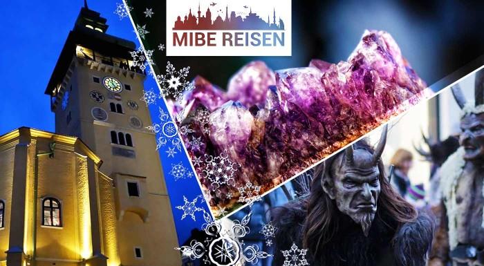 Fotka zľavy: Príďte si užiť struhjúci beh čertov do rakúskeho mestečka Retz a navštívte okúzľujuci svet Ametystov. Advent v Rakúsku žije o stošesť, nenechajte si ho ujsť!