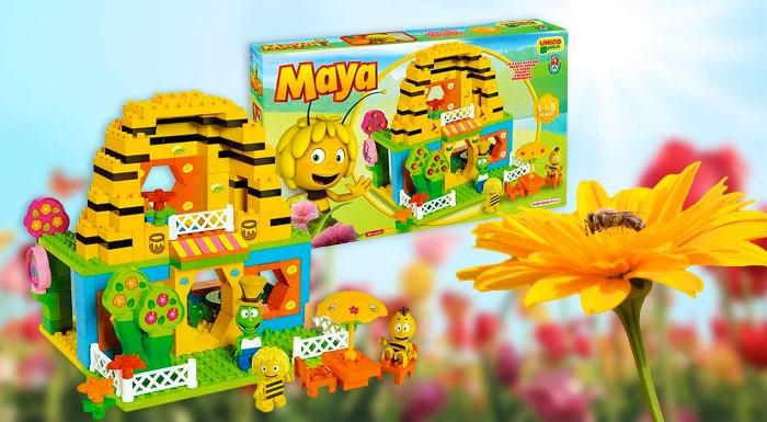 Fotka zľavy: Vytvorte si svet malej veľkej včielky Maje u vás doma. Fantastická skladačka kompatibilná s legom nielen, že zabaví vaše dieťa ale umožní mu rozvíjať jeho kreativitu a logiku.